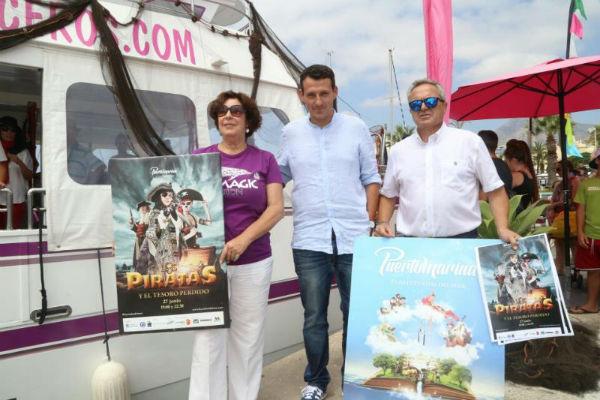 Puerto Marina acogerá este fin de semana una nueva jornada de Cinekaraoke y el espectáculo 'Los Piratas y el Tesoro Perdido'