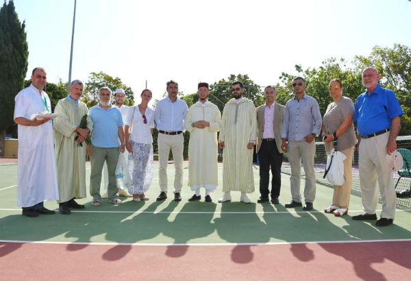 El Polideportivo de Arroyo de la Miel acoge la celebración de la Última Jornada de Ramadán