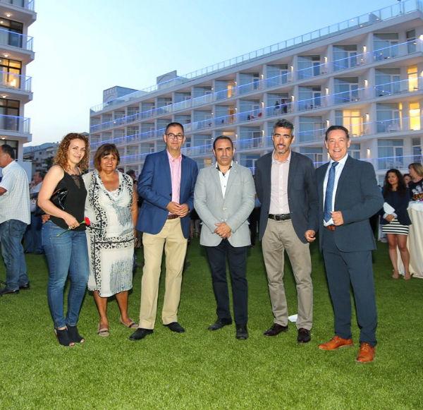 El Alcalde y Concejales de la Corporación participan en el acto de reapertura del Hotel Alay