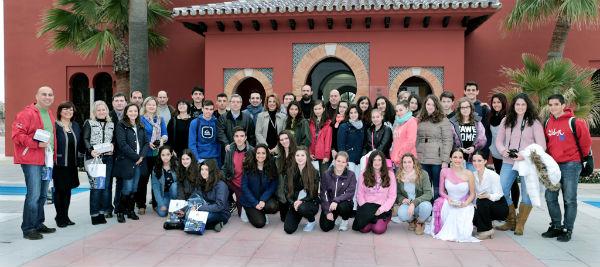 Alumnos y profesores de cinco países distintos se reúnen en Benalmádena para participar en el proyecto 'Kaleidoscope'