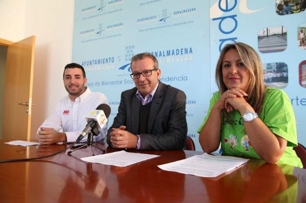 Francisco Salido anuncia la colaboración entre Sabrin y ASM para la campaña de recogida de juguetes