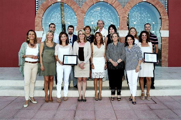 La alcaldesa preside el acto de reconocimiento a 'Gente Necesaria' de la Asociación Española Contra el Cáncer