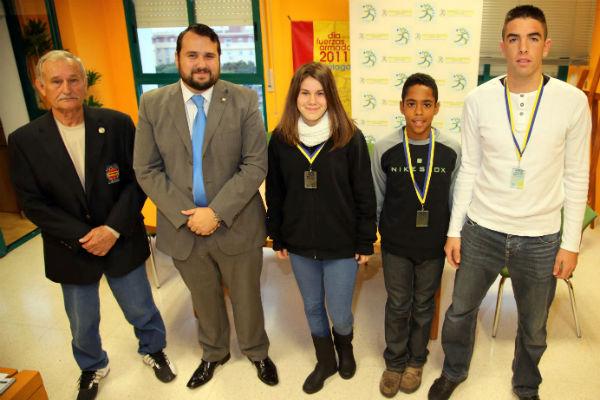El concejal de Deportes felicita a los recientes campeones de España de Taekwondo
