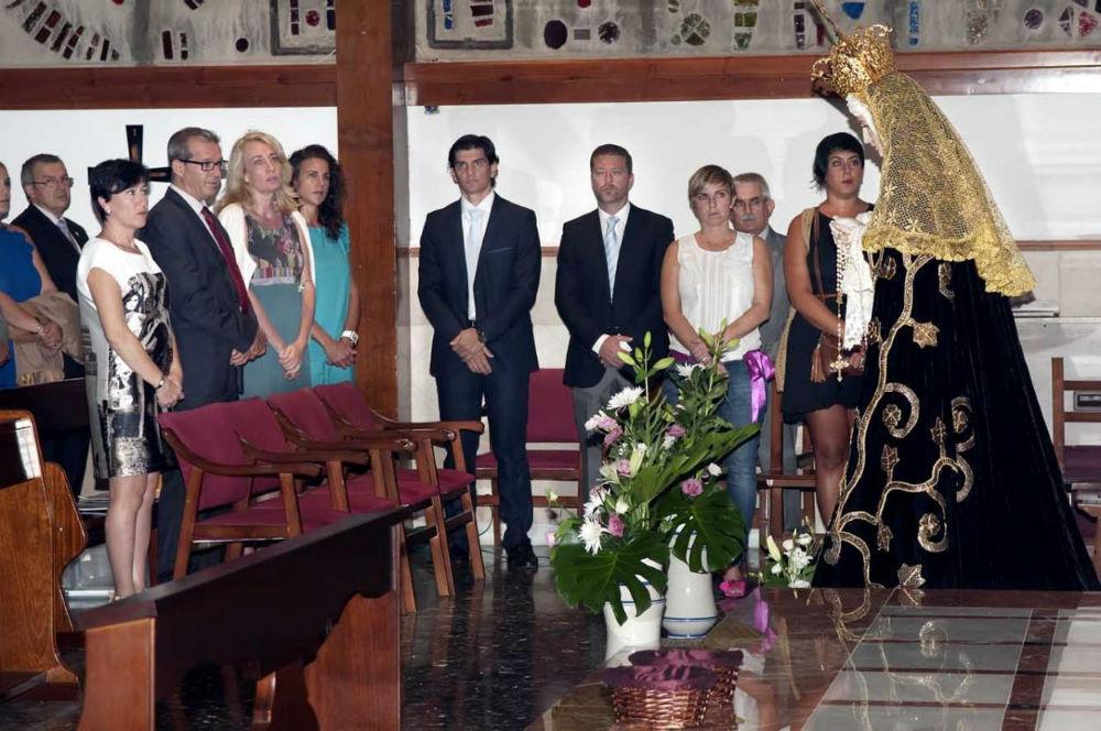 La alcaldesa asiste al juramento del cargo de los nuevos integrantes de la Junta Directiva de la Cofradía de la Redención