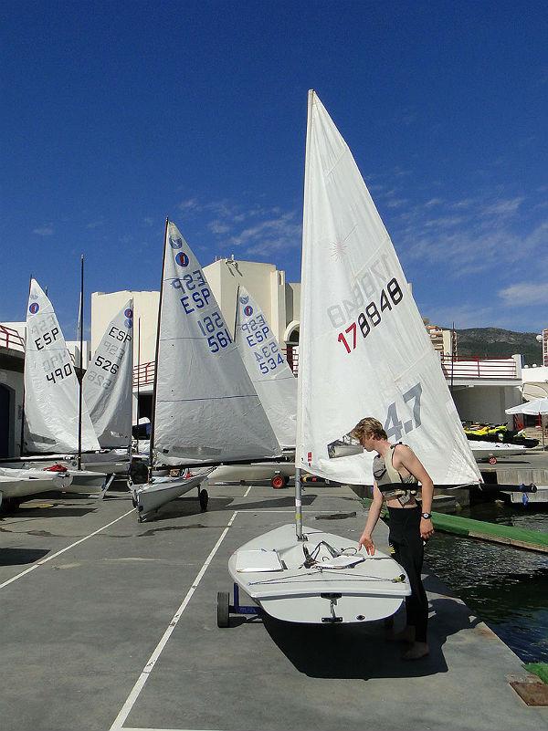 Más de una veintena de veleros disputaron este fin de semana la Copa de Andalucía de Vela de las Clases Europa y Finn