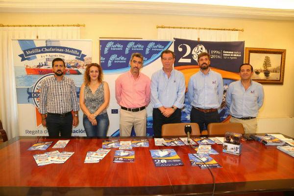 Benalmádena acoge la presentación de la 20º Semana Náutica Ciudad de Melilla
