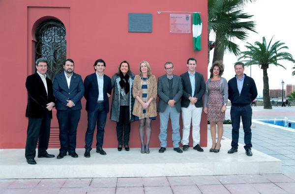 La alcaldesa preside la presentación de la nueva imagen del Castillo El Bil Bil tras su rehabilitación