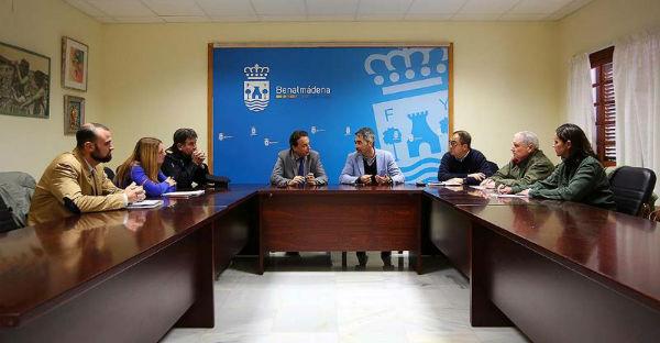 Benalmádena reclama al Gobierno un refuerzo en la plantilla de la Policía Nacional y una comisaría propia para el Municipio
