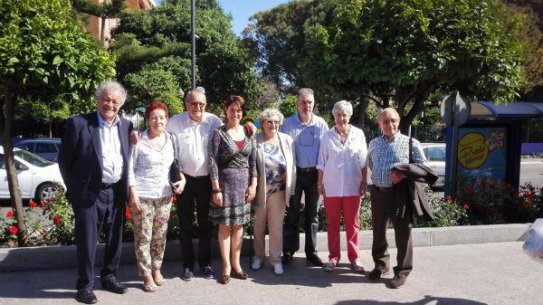La concejala Ana Scherman mantiene un encuentro con la Junta Directiva de la ...