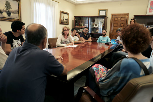 García Gálvez reclama a la Junta que 'deje de jugar con el prestigio de 'La Fonda', las ilusiones de los alumnos y el dinero de profesores y proveedores