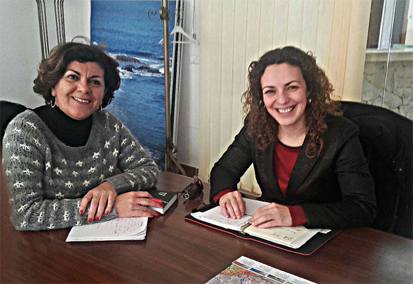 La Concejala Encarnación Cortés mantiene un encuentro con la Edil de Turismo de Mijas Fuensanta Lima