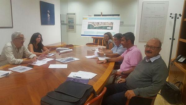 El Equipo de Gobierno mantiene un encuentro con Demarcación de Costas para abordar la situación de la Residencia Marymar