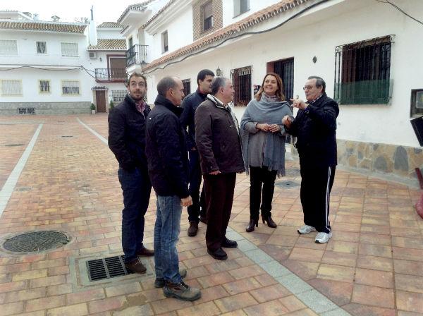 Vías y Obras ultima las actuaciones para la finalización del proyecto de remodelación de las calles Huelva y Jaén