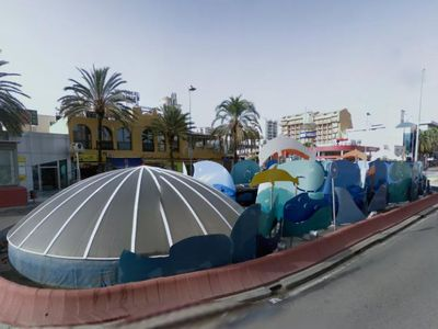 El Ayuntamiento Retoma las Obras en la Glorieta Solymar.