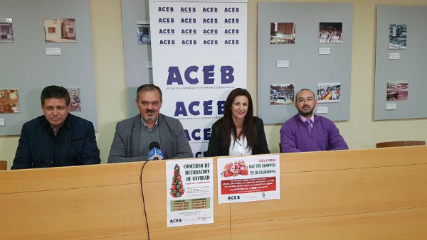 Arranca la campaña de Navidad de la ACEB, con más de 3000 euros en premiios y regalos para repartir.