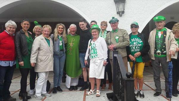 La Comunidad Irlandesa celebró el Día de Saint Patrick