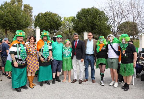 La comunidad Irlandesa de la Costa de la Sol celebra la festividad de Saint Patrick en Benalmádena