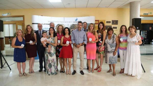 El Alcalde Víctor Navas y las Concejalas Irene Díaz  y Alicia Laddaga participan en el 10º Aniversario de la Residencia Sanyres