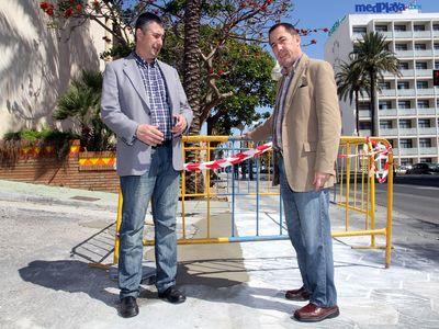 Obras de Mejora en el Rincón de Villasol.