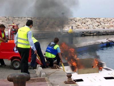 Éxito del simulacro de emergencias en Benalmádena