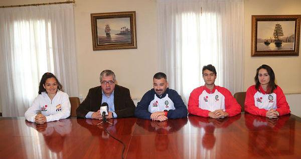 Tres jóvenes benalmadenses participan el en Campeonato Europeo de Taekwondo