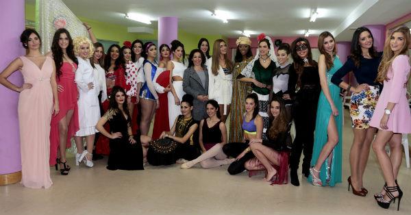 La Plaza de la Mezquita acoge la Gala Fast Track 'Talent Show'. prueba valedera para elegir a 'Miss World Málaga'