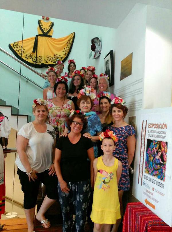 El Museo Felipe Orlando acogió un Taller de Diademas de Flores Mexicanas