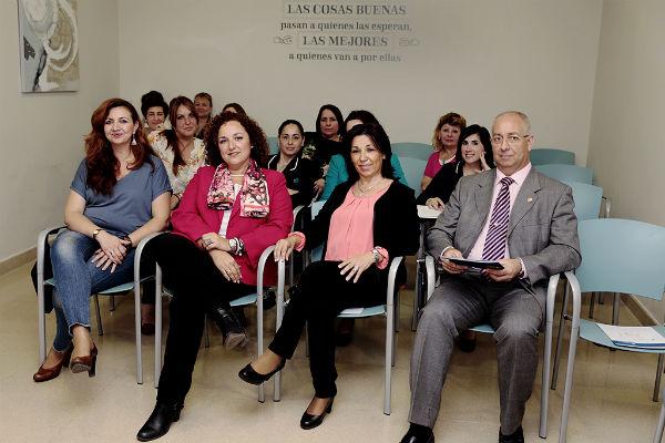 La delegación de igualdad celebra en el hospital Xanit el taller 'Liderazgo y Empoderamiento de la Mujer'