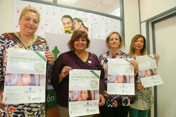 La AECC organiza dos talleres para ofrecer apoyo e información en materia de salud a pacientes y ciudadanos