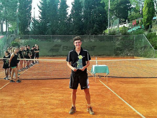 Luís Gomar, subcampeón del Internacional de Tenis ITF Leiria 2018
