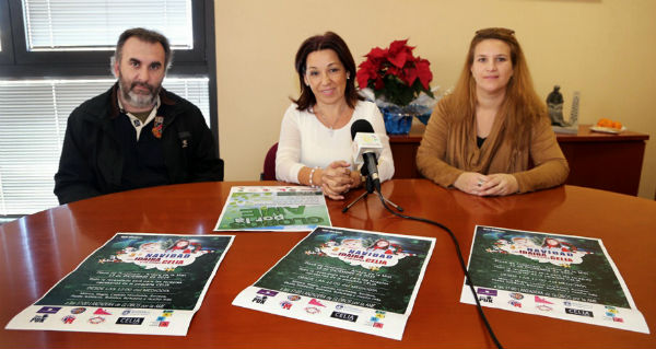 La plaza 'Adolfo Suárez' acogerá mañana la fiesta infantil 'Tercera Navidad con Idaira y su amiga Celia'