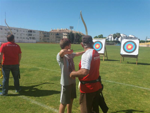 Éxito de asistencia en la Jornada de Tiro con Arco de los Juegos Deportivos Municipales