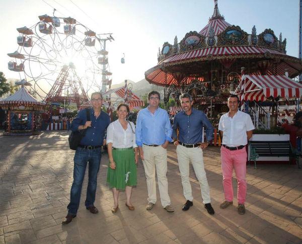 El Alcalde realiza una visita institucional a Tívoli World, ' Un referente del turismo y el ocio a nivel andaluz, con una indiscutible arraigo en Benalmádena'