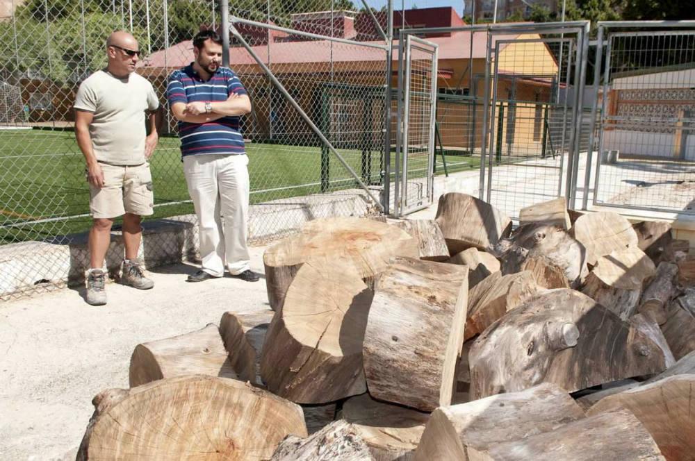 El Consistorio acomete la segunda fase de reformas del campo de fútbol 'El Tomillar'
