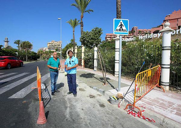 Servicios Operativos avanza en la mejora de accesibilidad del municipio
