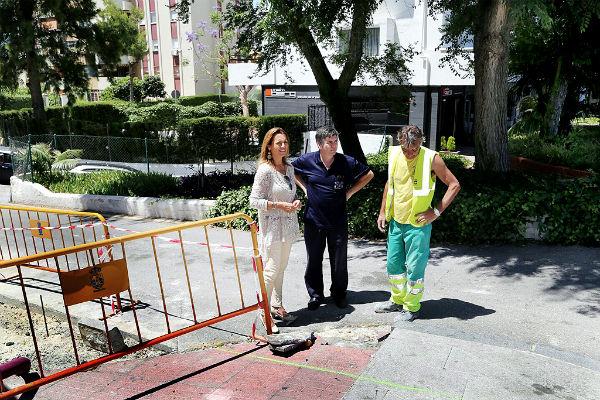 El Ayuntamiento culminará en los próximos días la remodelación de la Calle Huerta Peralta