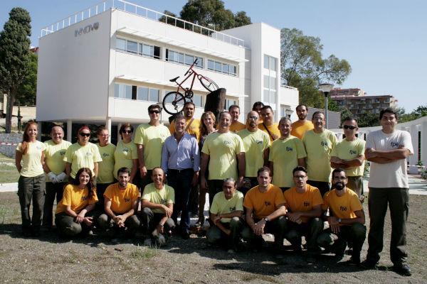 Alumnos de Benalforma concluyen sus practicas de mejora y mantenimiento en el Parque Innova