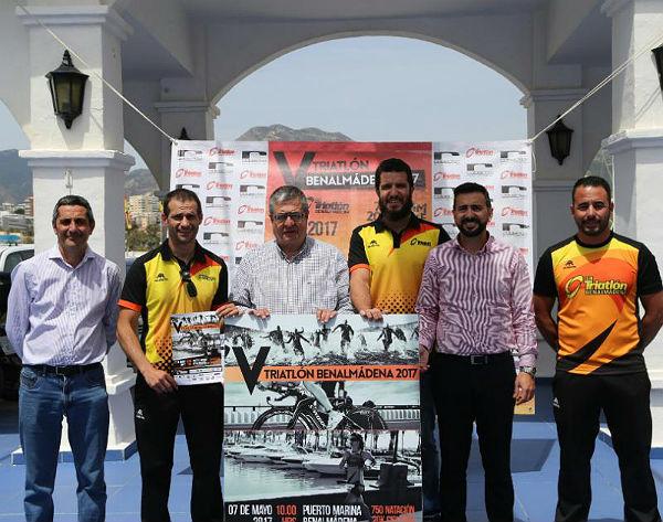 El próximo domingo 7 de mayo se celebra la nueva edición del Triatlón de Benalmádena