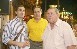 El entrenador del Unicaja visito la Feria 2006
