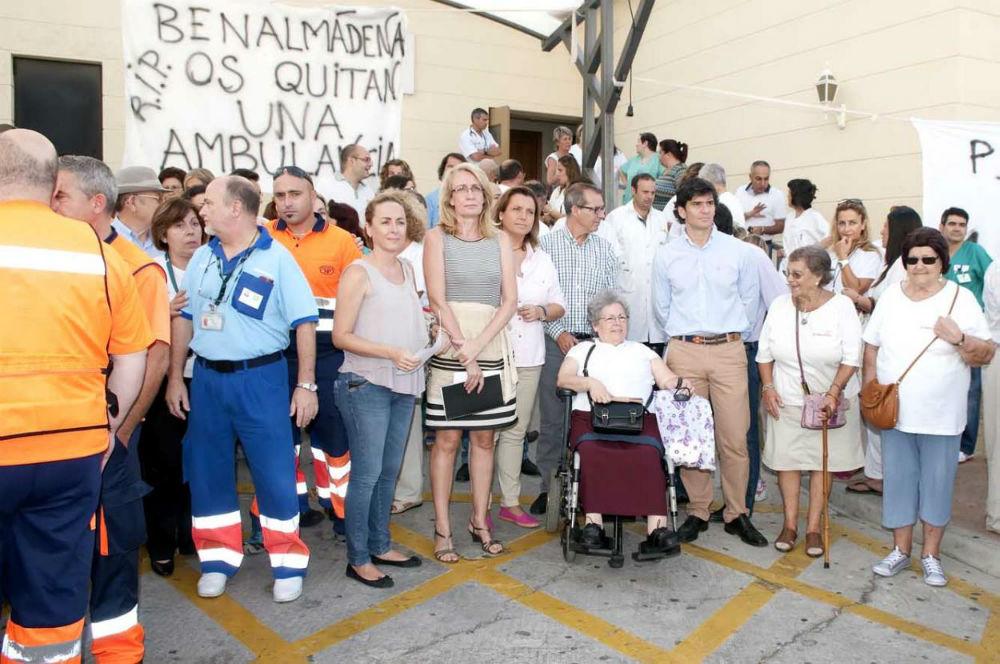 La alcaldesa de Benalmádena exige a la Junta que