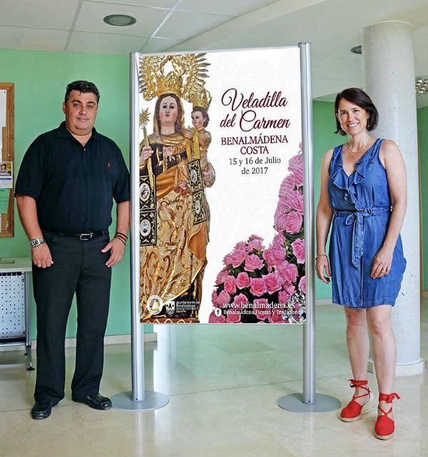 La concejala Ana Scherman presenta la programación de la Veladilla del la Virgen del Carmen