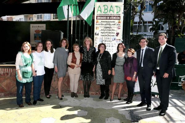 Más de 300 personas acompañaron a Abad en su gran fiesta con motivo del día de Andalucía.