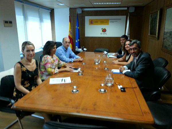 El alcalde Víctor Navas abre una línea de colaboración con la secretaria de Estado de Turismo para no perder los 6 millones del Fomit
