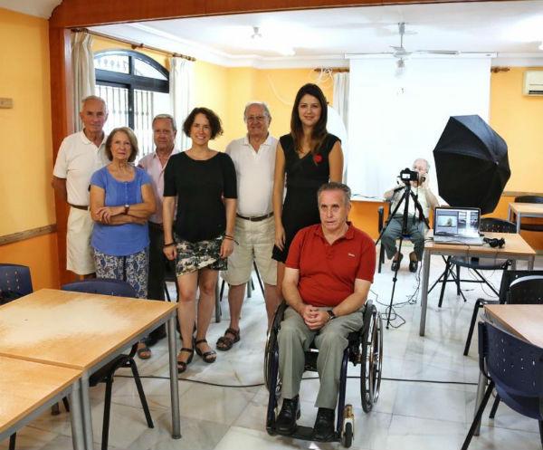 El IV Foro por la Paz arranca con la grabación de un vídeo con los testimonios de los usuarios del Centro Anica Torres