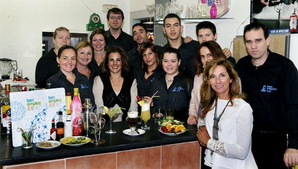 Más de un decena de alumnos participan en el curso 'Servicios de Bar y Cafetería' de Benemplea 2.0