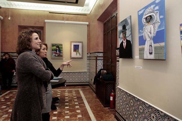 El Castillo del Bil-Bil acoge la muestra colectiva 'Tres Miradas'