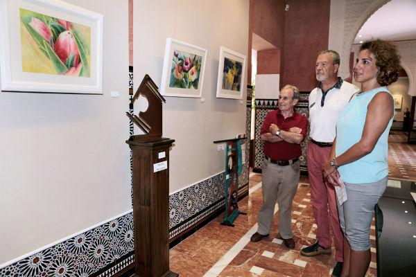 El Castillo El Bil-Bil acoge la muestra 'Fluir en el Arte', una exposición conjunta de Lus Andosilla y Francisco Martín