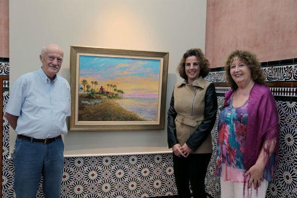 El Castillo El Bil-Bil acoge la exposición de pinturas del grupo 'In Cahoots'