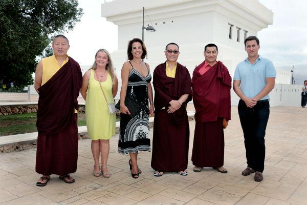 La Estupa de la Iluminación albergó una conferencia del Lama Lodreu Rabsel Rinpoche