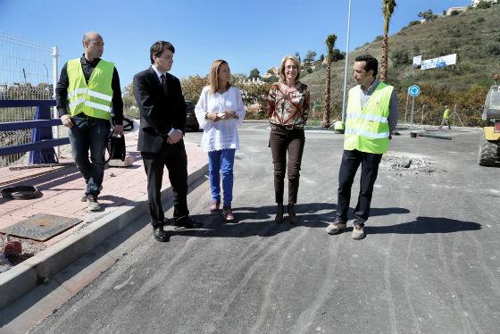Culmina el grueso de las obras de construcción del puente de La Viñuela